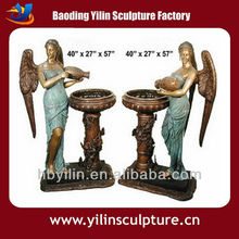 Casting Bronze Lady Water Fountain For Sale