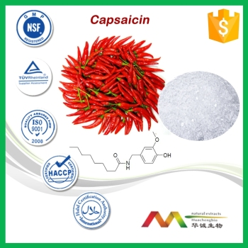 high quanlity pure capsaicin with 100% natural