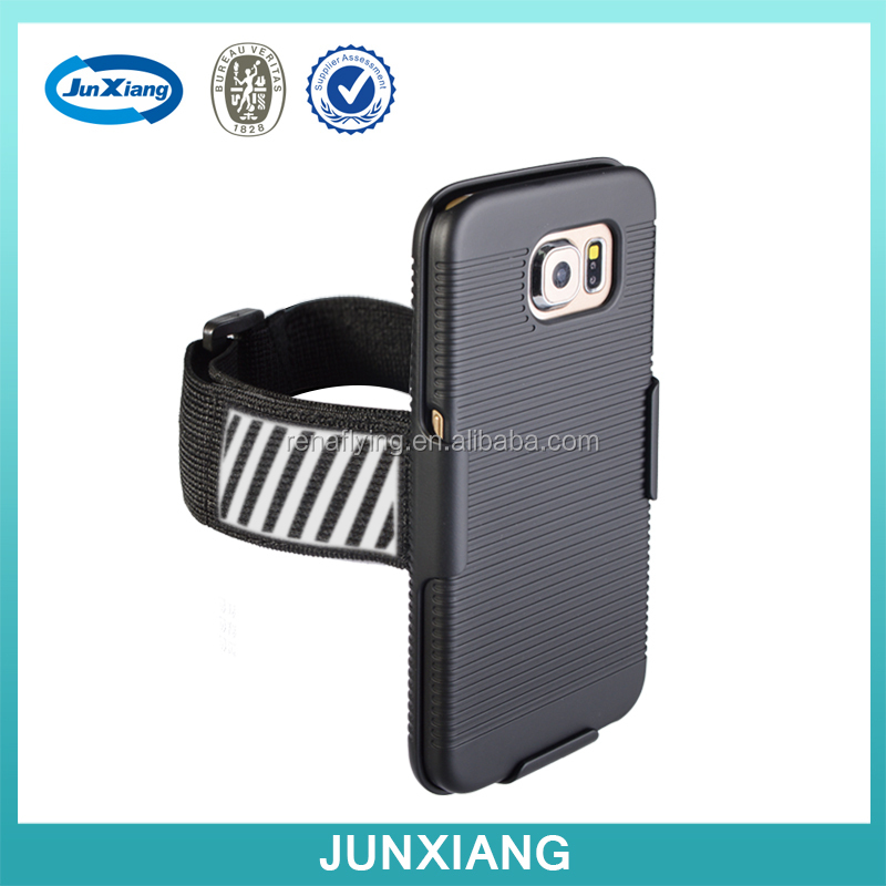 phone case with armband fit for any model with reflective frame