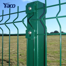 China Hengshui 4mm 5mm 6mm wire 50*100mm 50*200mm hole 1.2m 1.5m 1.8m 2m 2.5m height welded mesh fence panels for garden