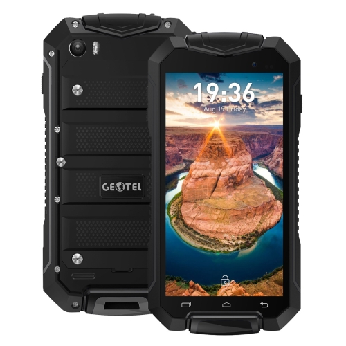 latest original mobile phone Geotel A1 Triple 8GB 4g smartphone 5g phone Waterproof Dustproof Shockproof Android 7.0