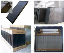 Black Chrome Glazed Flat Plate Solar Collector For Solar Water Heating