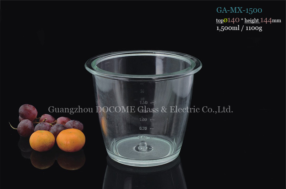 Free Samples of Replacement Borosilicate Glass Mixing Bowls for Food Mixers