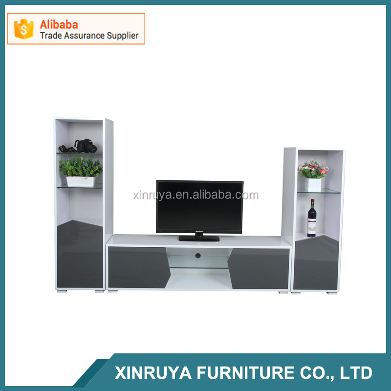 2016 New Design hIgh glossy tv stand MDF furniture table/modern tv stand