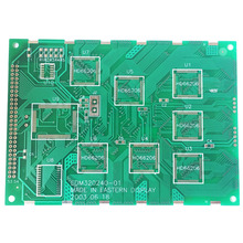 2-layer bga pcb with e-test electronics fr4 enig pcb copy