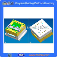 3d designed plastic mould product from chinese mould manufacturer