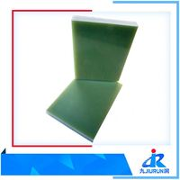 Epoxy Fiberglas Insulation Sheet Laminated Boards Yellow Color