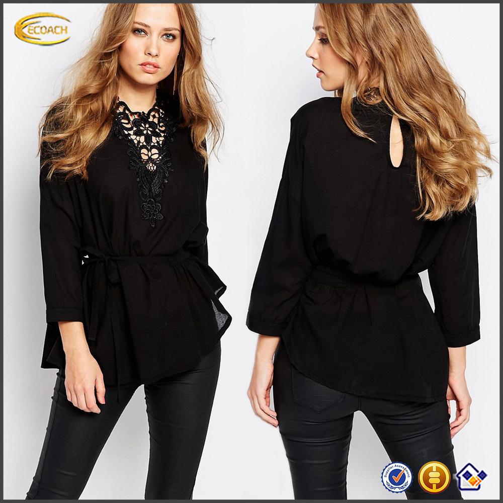 Черная Шелковая Блузка С Доставкой