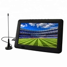 Quality ensure dvb-t isdbt dvbt2 9 inch portable dvb t lcd tv