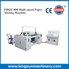 Automatic High speed surface rewind type tipping paper slitting machine