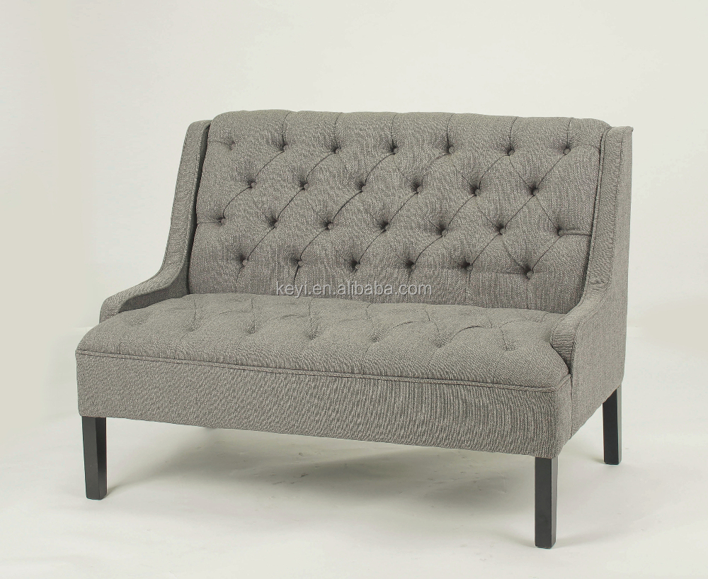 Gebruik in de woonkamer houten bank stoel knop ontwerp 2/houten ...