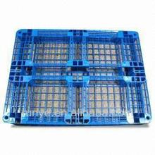 hot sale storage plastic pallet with wheels