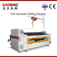 Full Automatic Adhesive Auto Plastic Film Slitting Machine Price High Speed Reliable