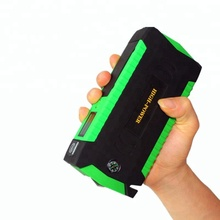 68800mah 4 USB car battery jump starter with emergency glass hammer