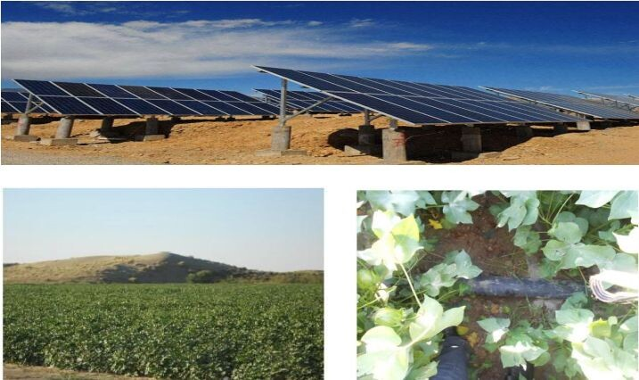 Solar water Pump system for irrigation and agriculture