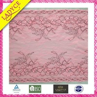 High quality spandex nylon lace trimming for lady's lingerie,curtain trim