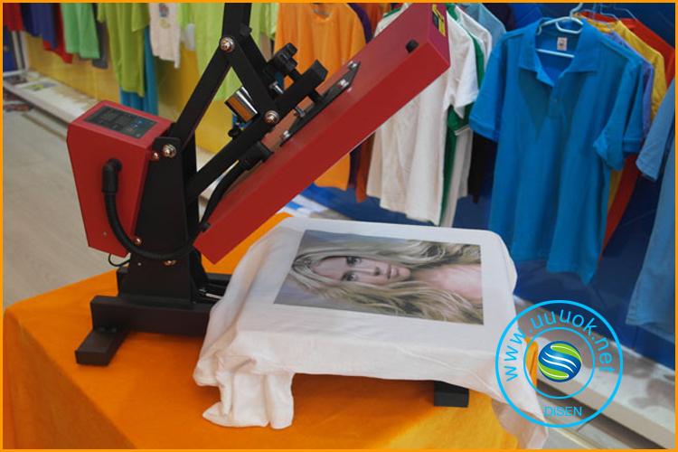 wholesale digital large format cheap A3 ceramic tile leather logo dual rubber t shirt rosin heat press machine