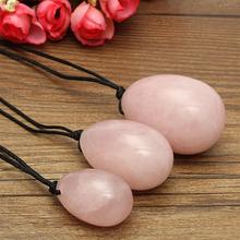Rose Quartz Yoni Eggs Set Sex For Women Vaginal Exercise