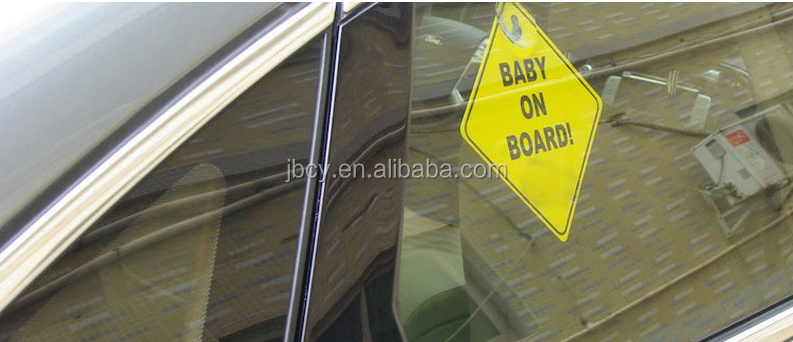 Factory Directly Selling Promotional Children On Board Car Signs
