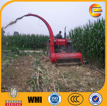 tractor driving maize silage crusher corn silage making machine