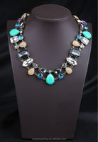 The crystal necklace high-grade stone fruit and colorful color
