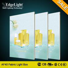 Edgelight AF40 hot sale factory price fabric indoor acrylic led light pocket pictures of latest gowns designs