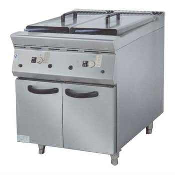PK-JG-9852 Gas Fryer ( 2 tank & 2 basket) with Cabinet, 900 series, for Commercial Kitchen