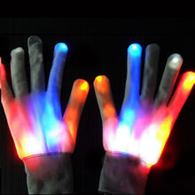 fashion party decoration glowing led gloves with multi colors