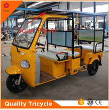 electric driving indian solar electric passenger tricycle
