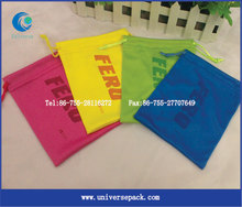 Customized microfiber eyeglasses bags/cell phone pouch