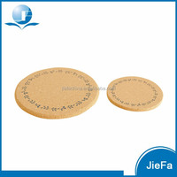Eco Table Placemat Decor Cork Coaster Wood Cup Mat