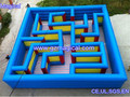 outdoor sport game attractive obstacle course inflatable maze