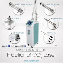 best effect hot! metal tube co2 fractional laser