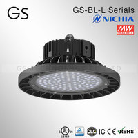 UL CUL SAA CE CB DLC approved led low bay light with meanwell driver