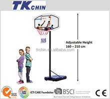 CE certificated adjustable basketball hoop toys for children