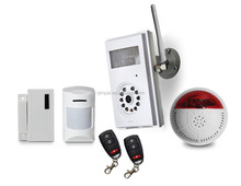 smart home, GSM intruder alarm, WIFI camera, wireless power plug