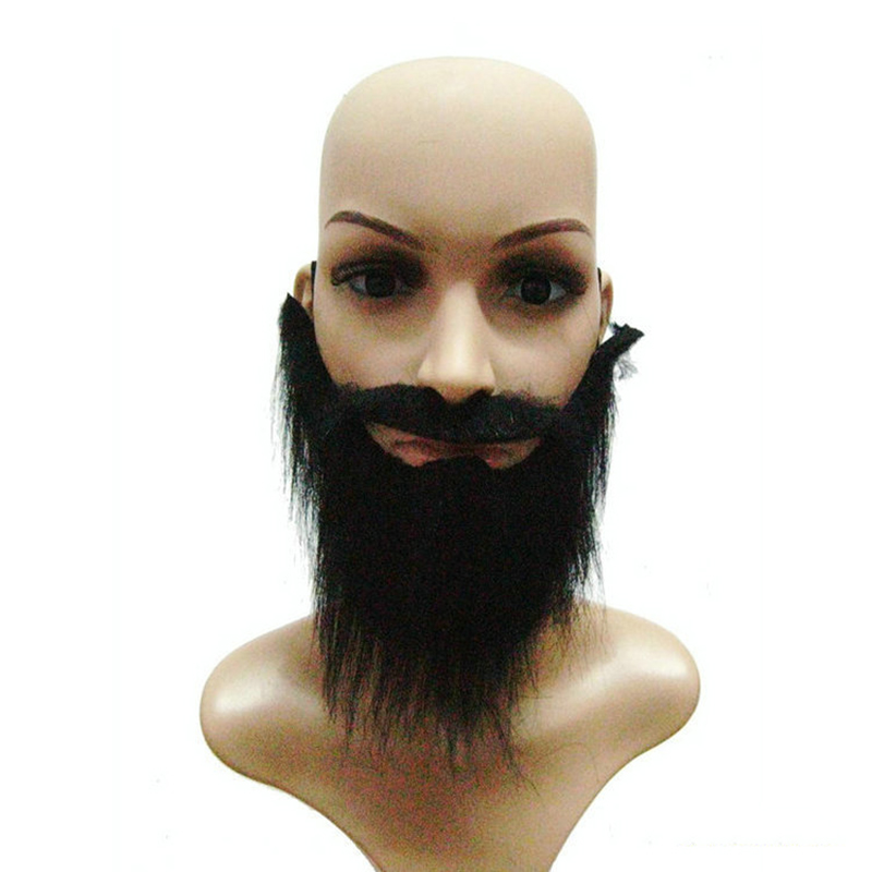 Halloween Masquerade Party Stage Performance Simulation Beard Black Beard Fake Beard
