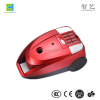 1400W high suction power red color vacuum cleaner