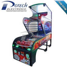 Indoor Coin Operated Basketball Shooting Machine hot sale classic street basketball arcade game machine
