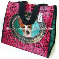 recycled printed promotional cute shopping bag