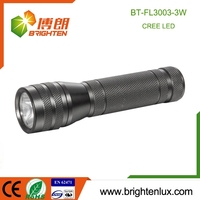 Colorful Aluminum alloy material 3*aaa battery Small Pocket Size 160 lumens Cheap high power 3 watt led flashlight