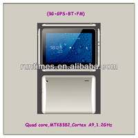 "Shenzhen China OEM Tablet 10"" Wifi Bluetooth GPS 2G/3G Phone Calling MTK Quad Core PC"
