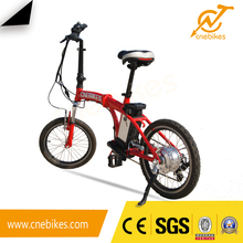 Reasonable price 20 inch small folding electric bicycle with 36v 250w hub motor