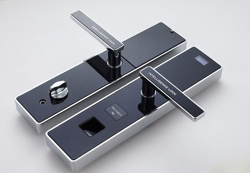 Digital Door Lock Hotel Lock Fingerprint Password Lock with invisible keyless entry security