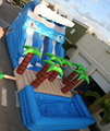Hola inflatable slide/inflatable water slides for adult