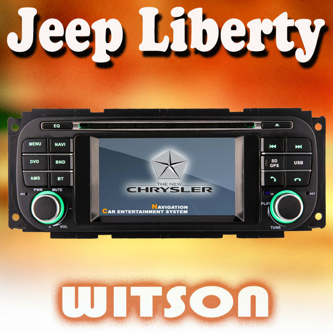 WITSON CHRYSLER Jeep Liberty car dvd gps hd with Steering Wheel Control