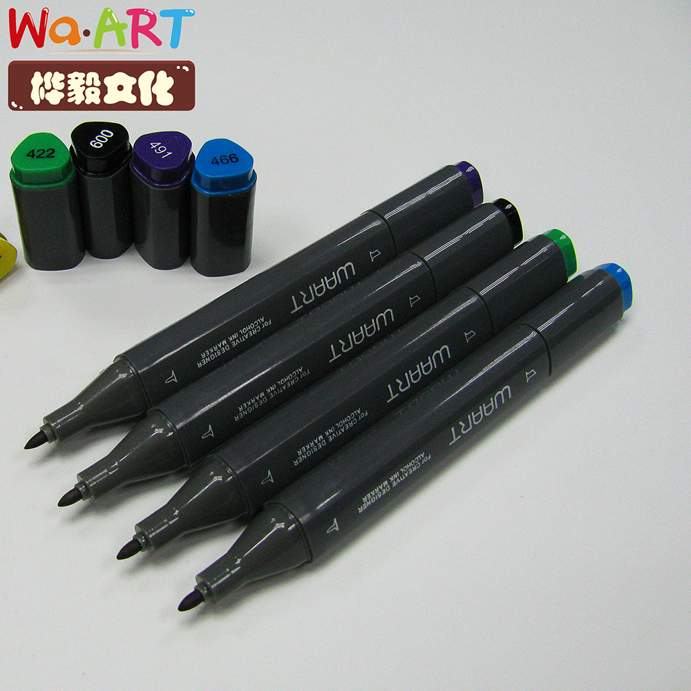 Cheap Dual Tip Paint Alcohol Markers