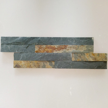 Popular And Cheap Wall Stone Veneer Natural Rusty Slate Rock Paneling