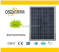 powerfull 100w Poly solar panel for industrial using