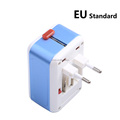 EU to UK universal travel adapter plug charger IC intelligent timing charging 2 usb 2.1 A travel adapter